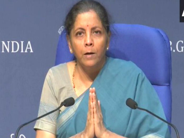 Finance Minister Sitharaman said with folded hands to Sonia Gandhi - Opposition should not do politics on this issue, should understand responsibility