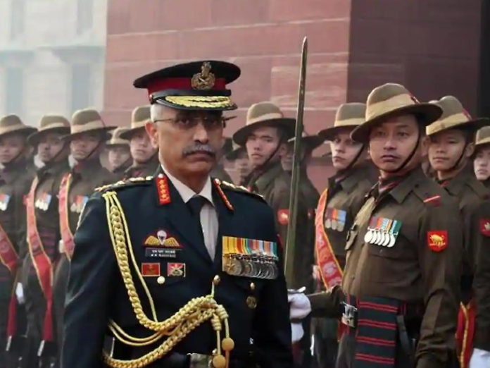 Army Chief Gen MM Naravane on pakistan sponserd terriost Group TRF and India-china Army clash