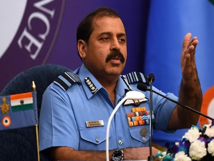 Whenever terrorist attack on our soil Pakistan should be worried says Indian Air Force Chief | Air Force Chief Bhadoria said - 24 hours ready for action on terrorist camps in PoK; Pakistan should stop promoting terrorism