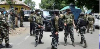 3 terrorists killed in Jammu and Kashmir