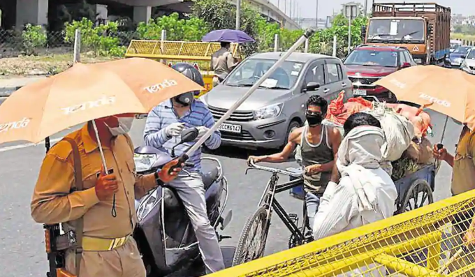 Delhi To Seal Borders for a week