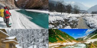 Top 5 Tourist Destinations of Kashmir