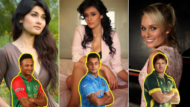 Top 7 WAGS in World Cricket