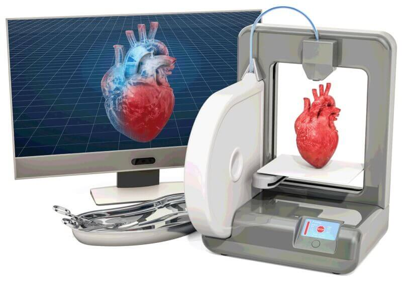 3D Printing Used for Reconstructing Organs and Body Parts